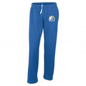 Mariemont Basketball Sweats - Blue, Warrior Logo