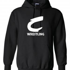 Columbia Raiders Wrestling, Black Hoodie