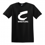 Columbia Raiders Wrestling, Black T-Shirt