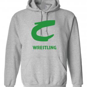 Columbia Raiders Wrestling, Grey Hoodie