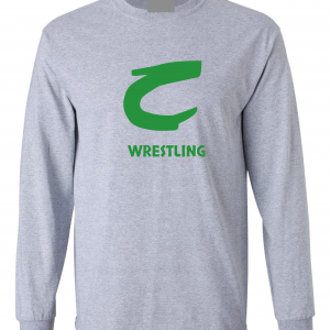 Columbia Raiders Wrestling, Grey Long Sleeved