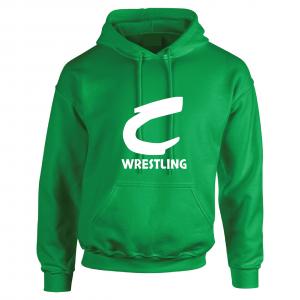 Columbia Raiders Wrestling, Green Hoodie
