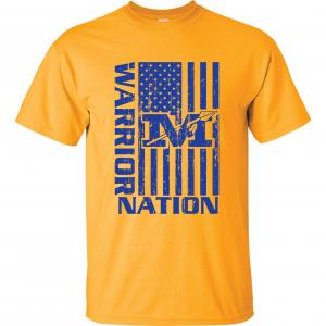 Warrior Nation - Mariemont, Gold T-Shirt