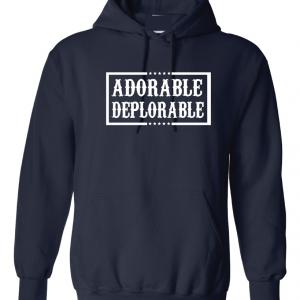 Adorable Deplorable - Navy, Hoodie