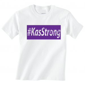 KasStrong - T-Shirt, White