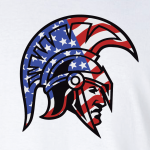 Glen Este Trojan Head/Flag, Hoodie, Long Sleeved, T-Shirt - Cotton blend and dry fit options