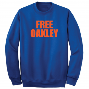 Free Oakley, Royal Blue, Crew Sweatshirt