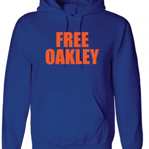 Free Oakley, Royal Blue, Hoodie