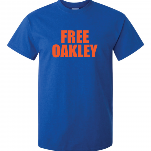 Free Oakley, Royal Blue, T-Shirt