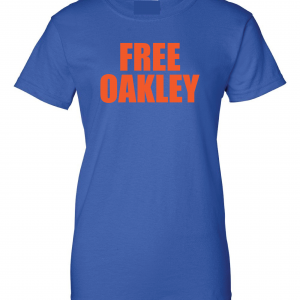 Free Oakley, Royal Blue, Women's Cut T-Shirt