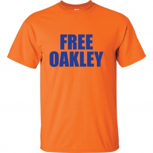 Free Oakley, Orange, T-Shirt
