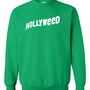 Hollyweed, Green, Sweatshirt