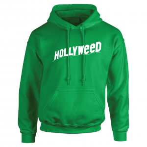 Hollyweed, Green, Hoodie