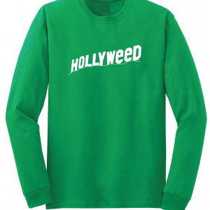 Hollyweed, Green, Long Sleeved