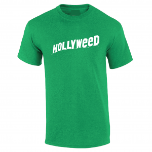Hollyweed, Green, T-Shirt