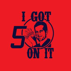 I Got 5 on It - Tom Brady - Patriots, Hoodie, Sweatshirt, Long Sleeved, T-Shirt, Women's Cut T-Shirt