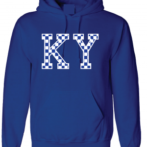 KY - Kentucky Wildcats, Hoodie, Royal Blue