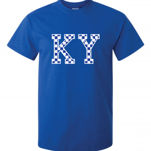 KY - Kentucky Wildcats, T-Shirt, Royal Blue