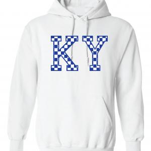 KY - Kentucky Wildcats, Hoodie, White