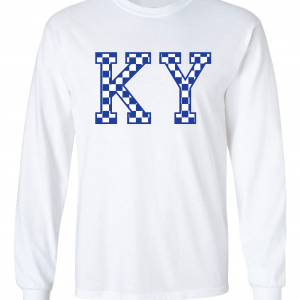 KY - Kentucky Wildcats, Long-Sleeved, White