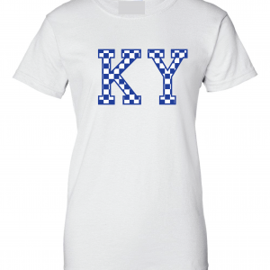 KY - Kentucky Wildcats, Women's Cut T-shirt, White