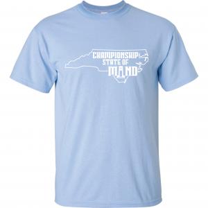 Championship State of Mind - North Carolina, Carolina Blue, T-Shirt
