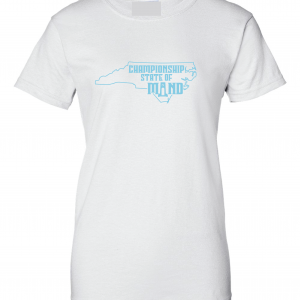 Championship State of Mind - North Carolina, White, Women's Cut T-Shirt