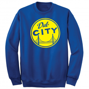 Dub City, Royal Blue, Crew Sweatshirt