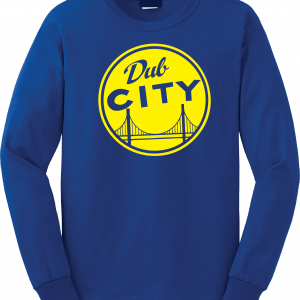 Dub City, Royal Blue, Long Sleeved