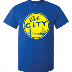 Dub City, Royal Blue, T-Shirt