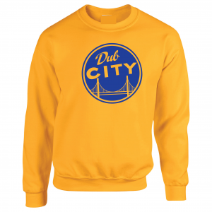 Dub City, Gold, Crew Sweatshirt