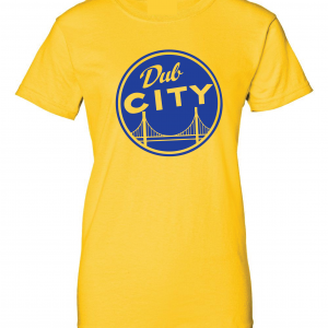 Dub City, Gold, Women's Cut T-Shirt