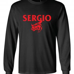 Sergio, Black, Long-Sleeved