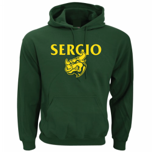 Sergio, Green, Hoodie