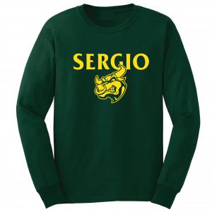 Sergio, Green, Long-Sleeved