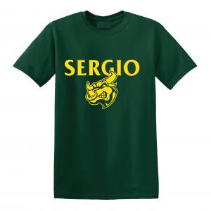 Sergio, Green, T-Shirt