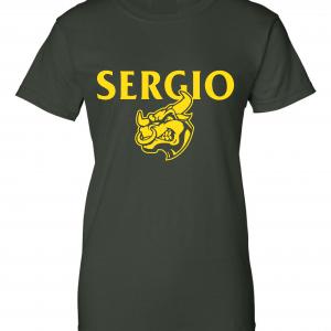 Sergio, Green, Women's Cut T-Shirt