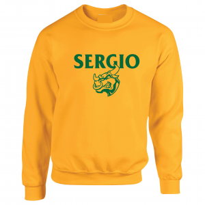 Sergio, Gold, Crew Sweatshirt