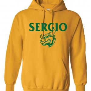 Sergio, Gold, Hoodie