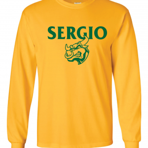 Sergio, Gold, Long-Sleeved