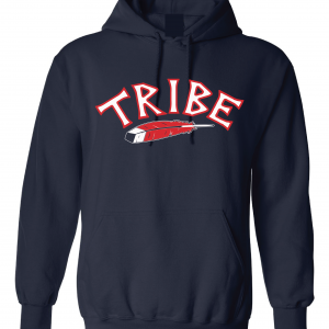 Tribe - Cleveland Indians, Navy, Hoodie