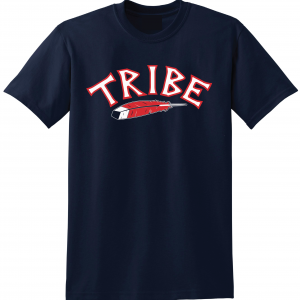 Tribe - Cleveland Indians, Navy, T-Shirt
