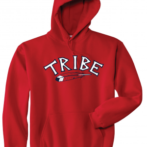 Tribe - Cleveland Indians, Red, Hoodie