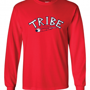 Tribe - Cleveland Indians, Red, Long-Sleeved