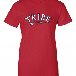 Tribe - Cleveland Indians, Red, Women's Cut T-Shirt