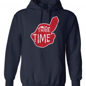 Tribe Time, Navy, Hoodie