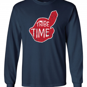 Tribe Time, Navy, Long-Sleeved