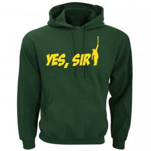 Yes Sir - Masters - Golf, Green, Hoodie