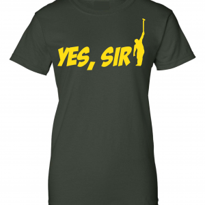 Yes Sir - Masters - Golf, Green, Women's Cut T-Shirt