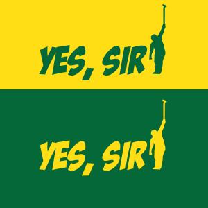 Yes Sir - Masters - Golf, Hoodie, Long-Sleeved, T-Shirt, Crew Sweatshirt, Women's Cut T-Shirt